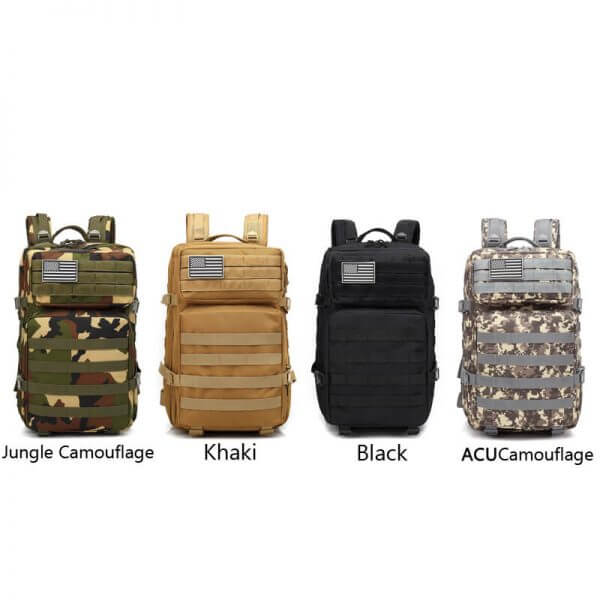 Outdoor 3-Day Rucksack Tactical Backpack (9)