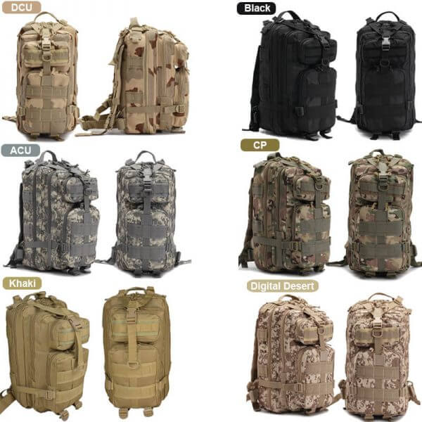 40L Outdoor Tactical Backpack Rucksack (7)