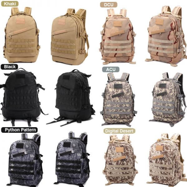 40L Waterproof Outdoor Tactical Backpack (6)