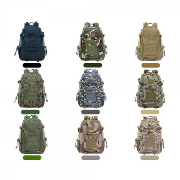 Outdoor Tactical Backpack MOLLE Rucksack (4)