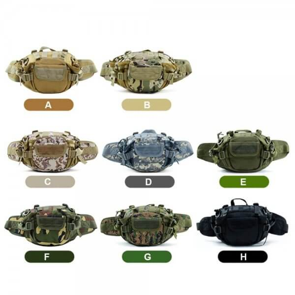 Outdoor MOLLE Tactical Waist Pack (5)