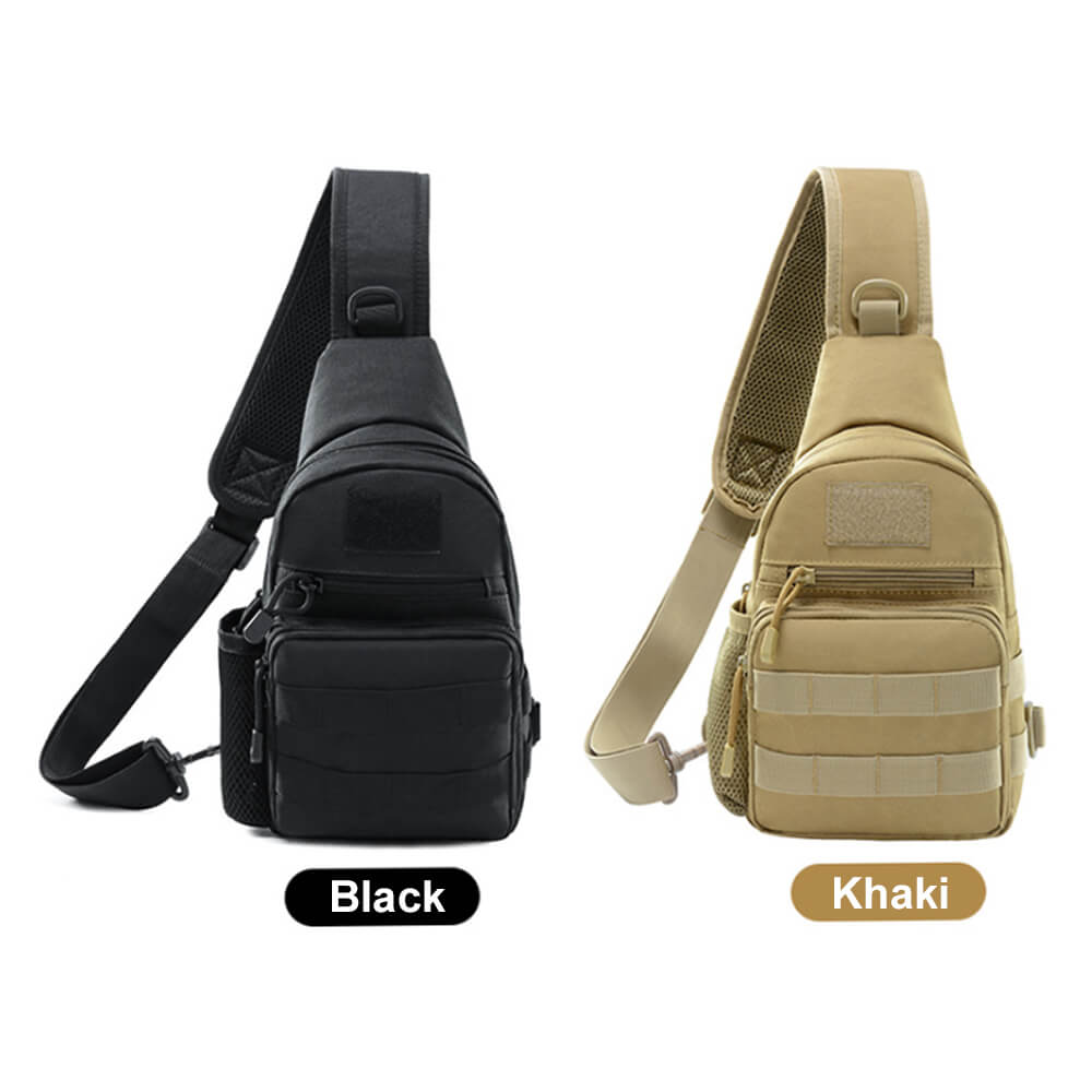 Sports & Entertainment Brave Waterproof Military Tactical Sling Chest Bag Travel Hiking Molle Cross Body Messenger Backpack Shoulder Bag Casual Day Pack