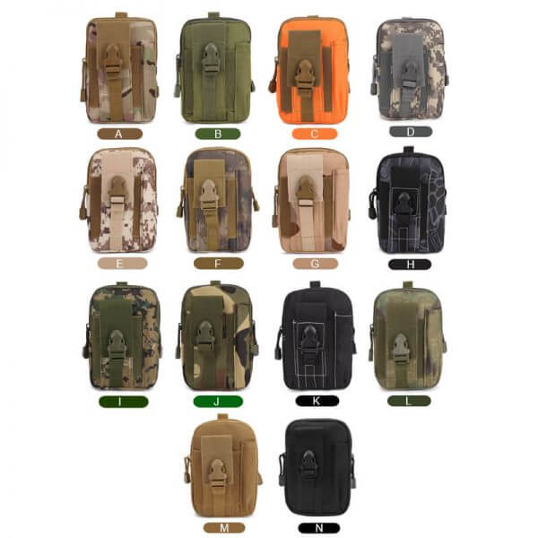 Tactical MOLLE Pouch Waist Bag Pack (6)