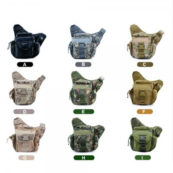 Outdoor Tactical Shoulder Pack Sling Bag (5)