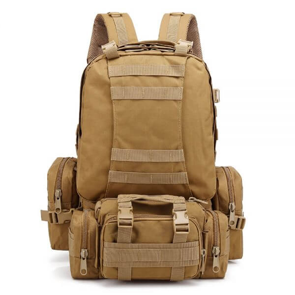 Outdoor Detachable 60L Tactical Backpack (1)
