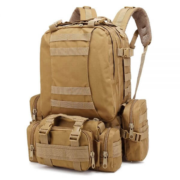 Outdoor Detachable 60L Tactical Backpack (2)