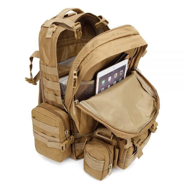 Outdoor Detachable 60L Tactical Backpack (6)
