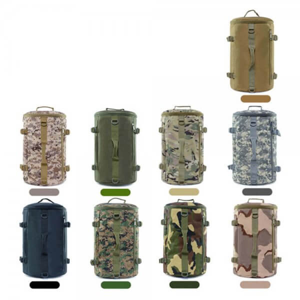 Tactical Barrel Backpack Messenger Pack (5)